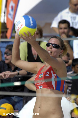 Beach-Volley:  Masters de Montpellier 2009.