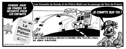 LA SECURITÉ sur le tour de France 2009 - 96° édition - avec la gendarmerie