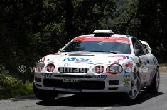 Voiture N°1 vainqueur du rallye.