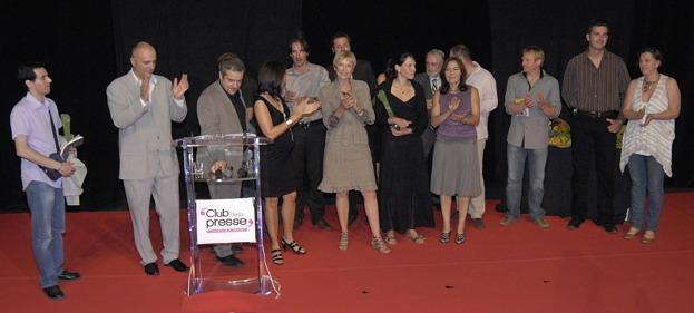 Les lauréats de la 24° Nuit de la Presse du Languedoc-Roussillon