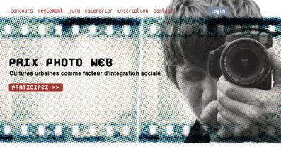 Création du Prix Web Photo