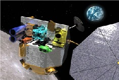 Image above: LRO Spacecraft, Artist Rendering