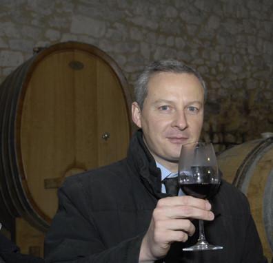 Bruno Le Maire, ministre de l'Agriculture © Photo Yvan Marcou