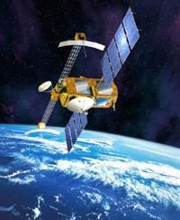 Le satellite JASON-2. Crédits : CNES, juin 2003/Illust. D. Ducros