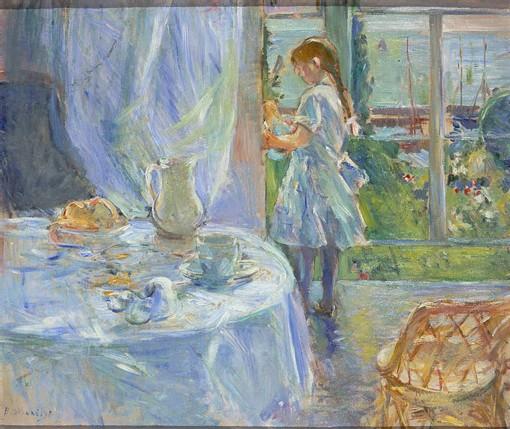 Intérieur de cottage - 1886 (huile sur toile)