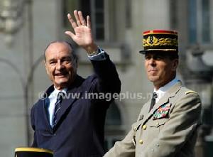 Jacques Chirac, Président de la République.