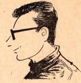 ROBERT LASSALVY - autoportrait
