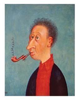 ALBERT DUBOUT - autoportrait