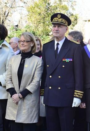 Hélène Mandroux et Pierre de Bousquet - Montpellier - 14/01/2013 - photo Yvan Marcou