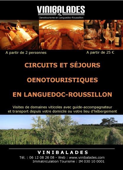 VINIBALADES - Oenotourisme en Languedoc-Roussillon