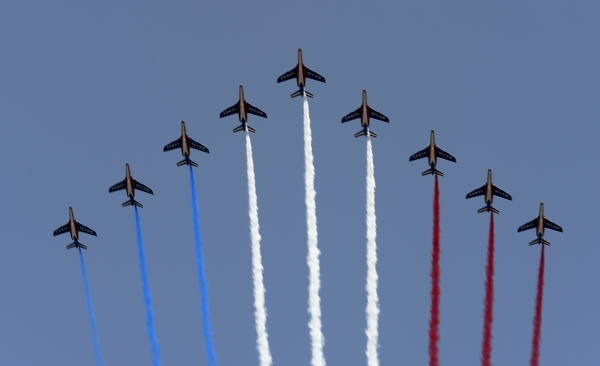La patrouille de France - photo Yvan marcou