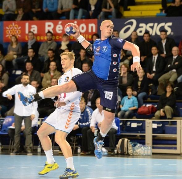 Matej Gaber - homme du match - photo © Yvan Marcou