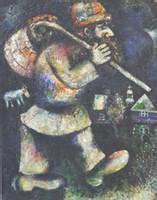 Marc Chagall, En route (Le juif errant), 1924-25 Musée du Petit Palais de Genève ©ADAGP Paris 2007