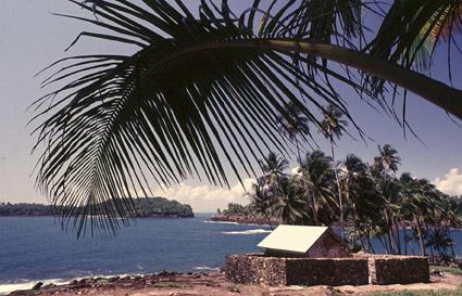 Cellule de Dreyfus sur l'Ile du Diable (Guyane)