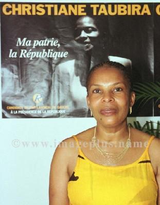 TAUBIRA Christiane