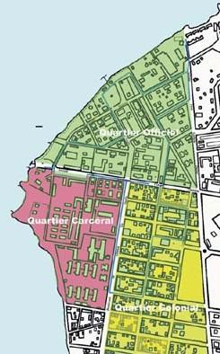 Organisation de la ville.