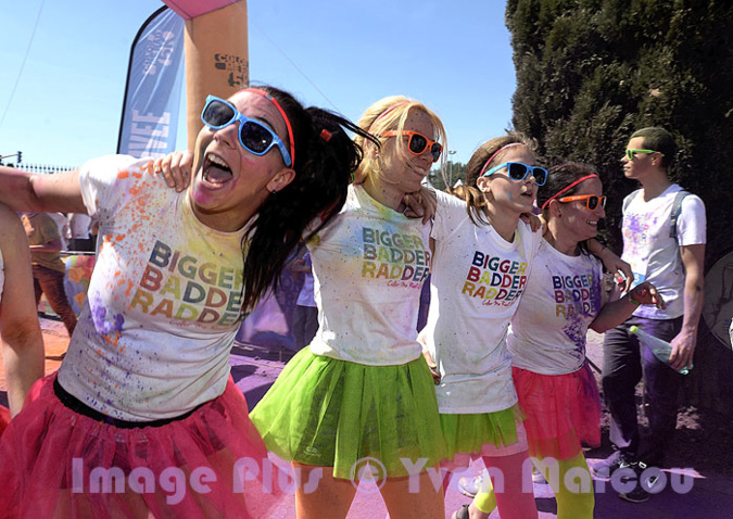 Color Me Rad. à Montpellier