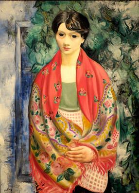 Femme au châle polonais (1928) - photo Yvan Marcou