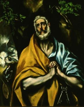 Les larmes de Saint-Pierre - El Greco - Tolède