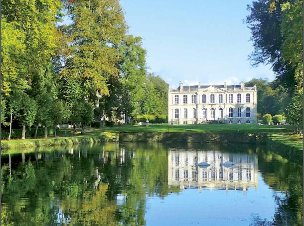 Le château de Canon en Normandie