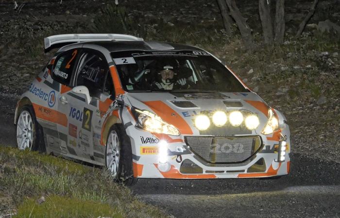 Vainqueur du rallye - Yoann Bonato dans la ES 7 © Photo Yvan Marcou