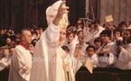 Le Pape Jean-Paul II.