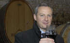 Bruno Le Maire, ministre de l'Agriculture, rencontre les viticulteurs de l'Hérault