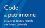LE CODE DU PATRIMOINE A ETE PRESENTE A L'INP