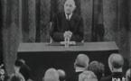 Conférence de presse du général de Gaulle : extraits