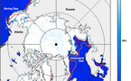 La banquise de l'Arctique toujours en danger malgré un hiver froid.
